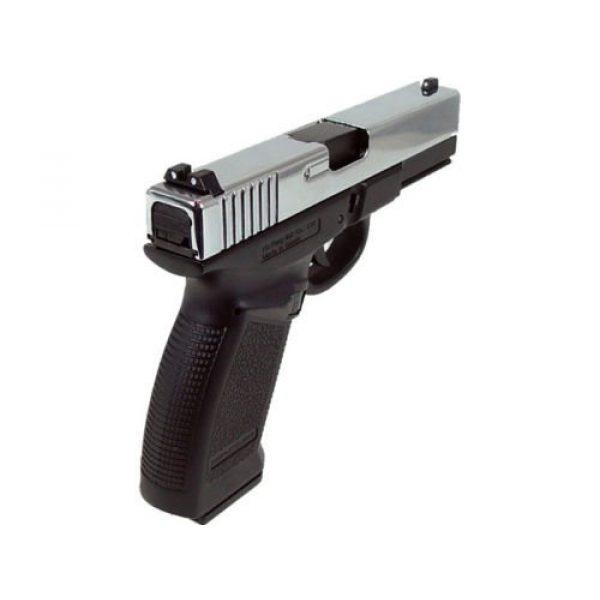 HFC Airsoft Pistol 4 HFC dark hawk full metal gun gas powered blowback airsoft pistol with case(Airsoft Gun)