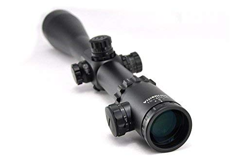 Visionking Rifle Scope 1 Visionking Rifle Scope 10-40x56 Red & Green Illuminated Crosshair 35mm Tube Gun Scopes for Hunting