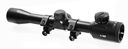 TRINITY Rifle Scope 3 TRINITY Hunting Scope for Crosman Bulldog rangefinder Reticle Picatinny Weaver Mounted Optics.