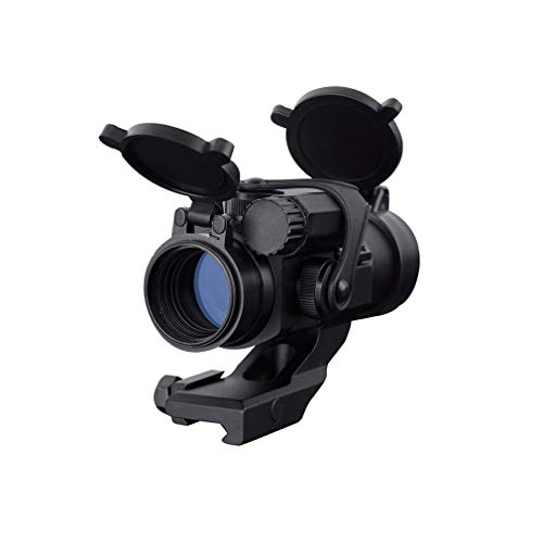 KTAIS Rifle Scope 1 KTAIS Hunting Red Dot Aim Scope Optical Sight Riflescope Collimating Sights Thermal Imager for Hunting M2 (Color : Black)
