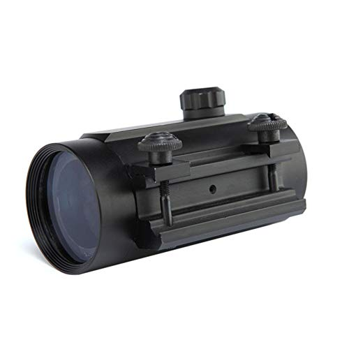 DJym Rifle Scope 5 DJym Tactical 1x40mm Red Dot Sight for Rifle Carbine Shootgun Gun Hunting Outdoor Sports