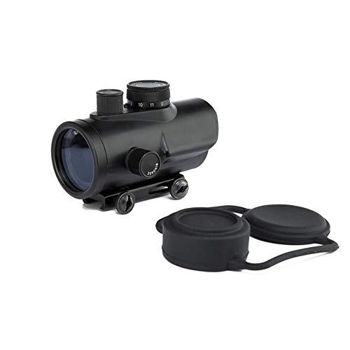 DJym Rifle Scope 2 DJym Advanced Red Dot Sight, Matt Black Sight for Hunting Rifle Scopes Rail 22 mm