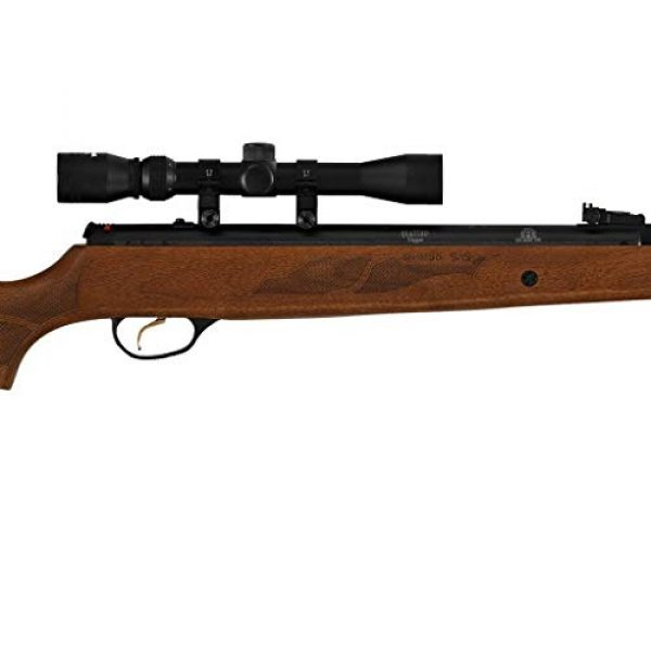 Wearable4U Air Rifle 5 Hatsan Mod 95 Vortex Combo QuietEnergy QE Air Rifle, Walnut with Included Wearable4U 100x Paper Targets and Lead Pellets Bundle