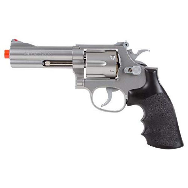 UHC Airsoft Pistol 4 TSD Sports UA933S 4 Inch Spring Powered Airsoft Revolver (Silver)