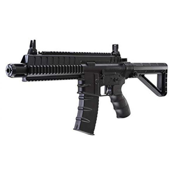 Umarex Air Rifle 2 Umarex Steel-Strike Automatic .177 Caliber BB Gun Air Rifle, Steel-Strike Air Rifle, Black (2252120)