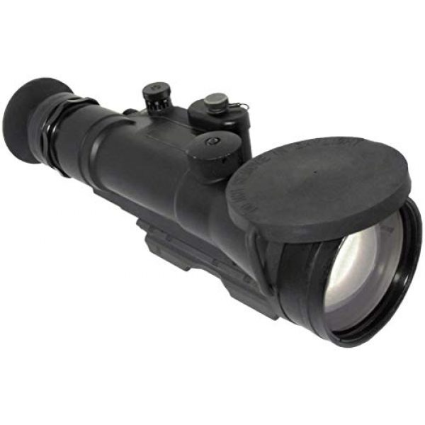 """PRG Defense Rifle Scope 2 PRG Defense 15WOP623353011 Model Wolverine Pro 6 3NL1 Gen 3+""""Level 1"""" Night Vision Rifle Scope, 6X Magnification, 178mm Objective Lens, 5.7° FOV, 50m to Infinity Focus Range, 30mm Eye Relief"""