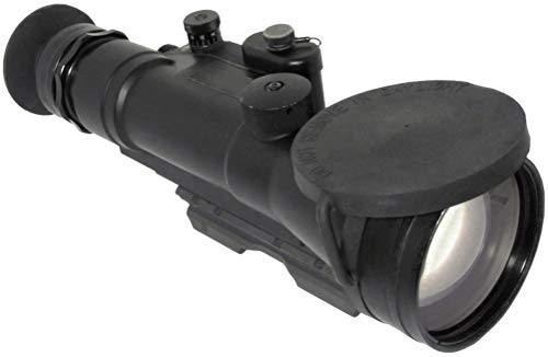 "PRG Defense Rifle Scope 2 PRG Defense 15WOP623353011 Model Wolverine Pro 6 3NL1 Gen 3+""Level 1"" Night Vision Rifle Scope, 6X Magnification, 178mm Objective Lens, 5.7° FOV, 50m to Infinity Focus Range, 30mm Eye Relief"