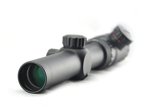 Visionking Rifle Scope 4 Visionking Rifle Scope 1.25-5x26 Mil-dot Rifle Scope Riflescope for Black