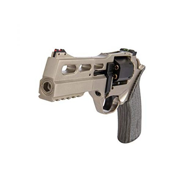 Lancer Tactical Air Pistol 7 Lancer Tactical Limited Edition Airgun Chiappa Rhino 50Ds CO2 Revolver Silver .177 Caliber