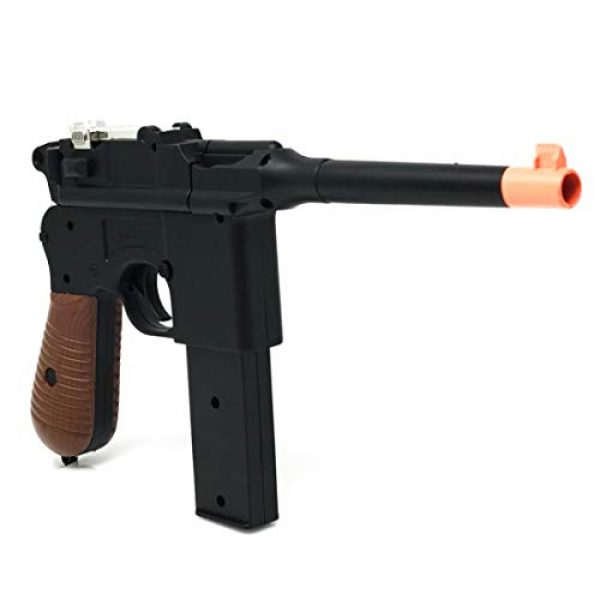 M32 Airsoft Pistol 1 WW2 New Airsoft Toy Gun German Mauser c69 Broomhandle with 2 Magazines Steampunk DIY
