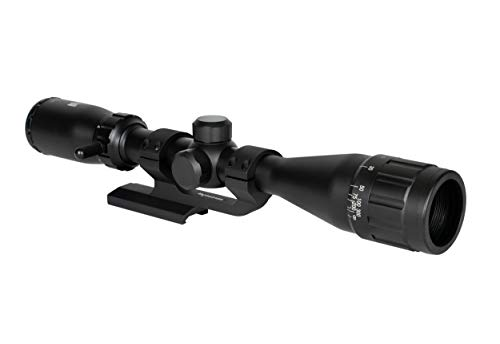 Monstrum Rifle Scope 1 Monstrum 3-9x40 AO Rifle Scope with Parallax Adjustment and Offset Scope Mount