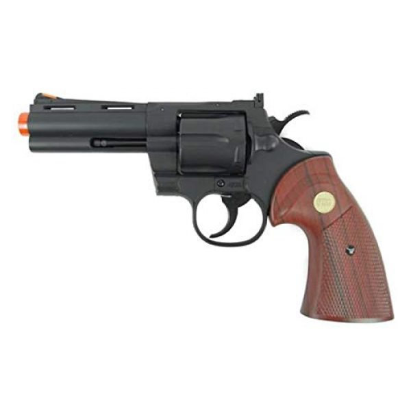 TSD Airsoft Pistol 1 TSD/uhc 138 gas revolver 4 inch barrel green gas power(Airsoft Gun)