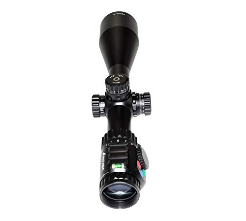 Eastvale Rifle Scope 5 Eastvale 4-16x56SPA Hunting Rifle Scope with Fully-Coated Wire Mil-Dot Red, Green and Blue Illuminated Reticle