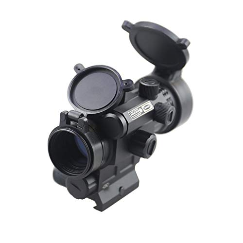 DJym Rifle Scope 2 DJym Advanced Button Red Dot Sight, 1X Waterproof and Anti-Fog Rifle Scope
