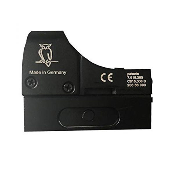 DJym Rifle Scope 5 DJym Tactical Mini Micro Red Dot Sight Red Dot Scope for Hunting with 22mm Mount