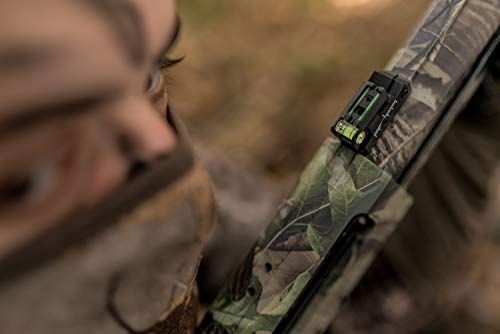 TRUGLO Rifle Scope 7 TRUGLO TruPoint Xtreme Universal Shotgun Sights with Luminescent Alignment Level and Elevation Ramp for Ribbed Shotgun