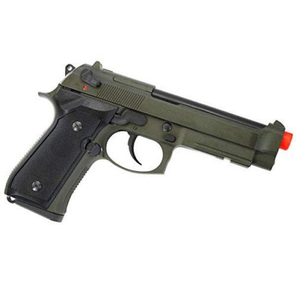 Soft Air Airsoft Pistol 6 Soft Air ANM Customs Cerakote KWA M9 Tactical PTP Gas Blowback Airsoft Pistol