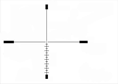 Rudolph Optics Rifle Scope 6 Rudolph Optics Varmint Hunter - VH 6-24x50 Riflescope with T5 Reticle