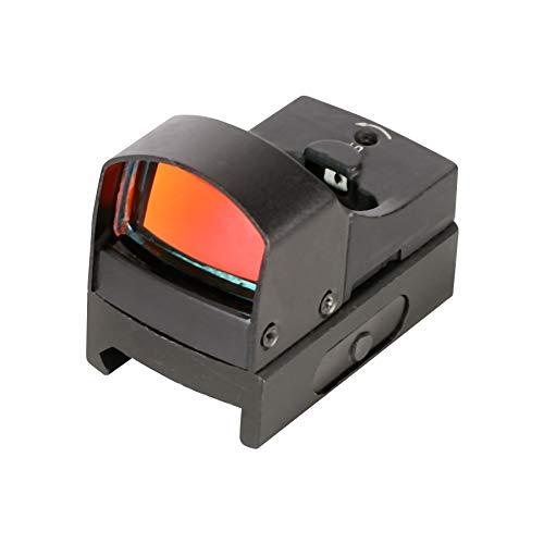 Pinty Rifle Scope 3 Pinty Rifle Scope 4-16x50, Illuminated Optics, Green Laser, Red-Coating Reflex Mini Sight