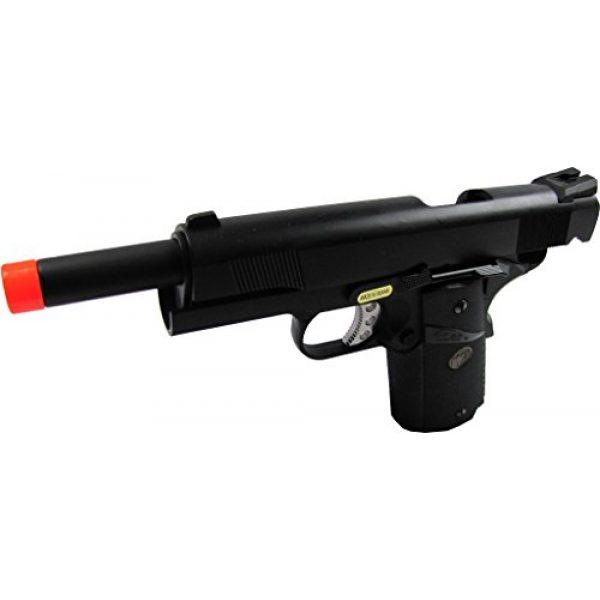 WE Airsoft Pistol 2 WE meu 191 gas blowback full metal - black(Airsoft Gun)
