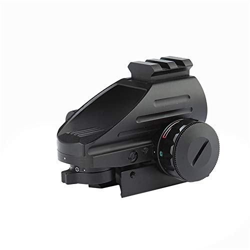 DJym Rifle Scope 3 DJym 1X Magnification Fast Sight, Additional Red Red Dot Sight Top with Rail Mounting Tactical Accessories