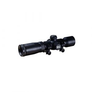 Excalibur Rifle Scope 1 Excalibur TACT 100 Scope 1.5-5x32mm - 100yd Illum Reticle, Black, 73595