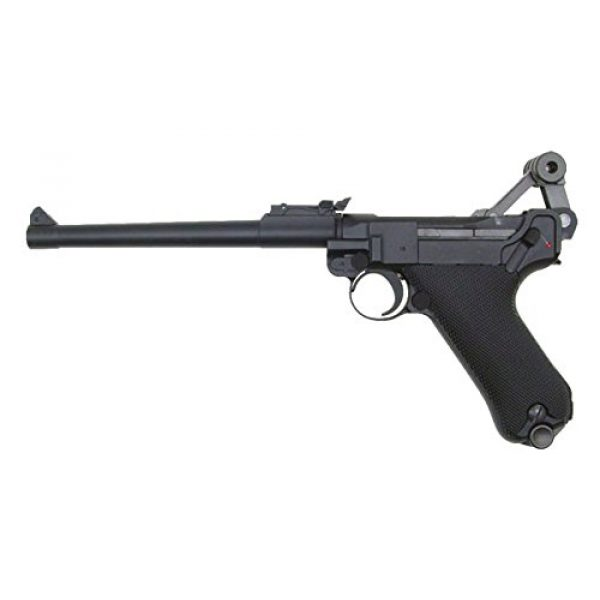 WE Airsoft Pistol 2 gbb-408l - WE full metal semi auto gas blowback pistol with free target trip tent and safety shooting glasses(Airsoft Gun)