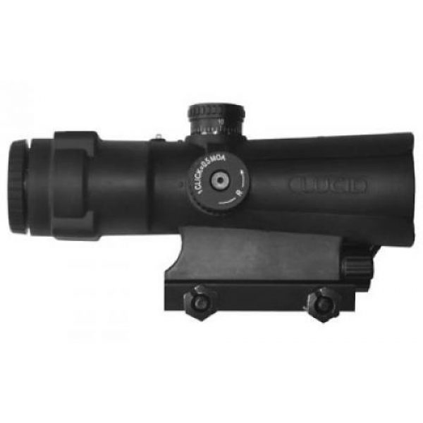 LUCID Rifle Scope 1 Lucid 4x Prismatic Weapons Optic with P7 Reticle