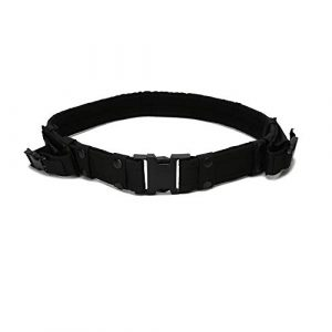 ABENAKI Tactical Belt 1 ABENAKI Adjustable Tactical Belt Military Heavy Duty Police Equipment Accessories for Outdoor Activities
