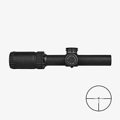 TRINITY Rifle Scope 4 Trinity Force Legacy 1-6x24 Scope, Black, P4 Sniper Reticle, SD3S1624B