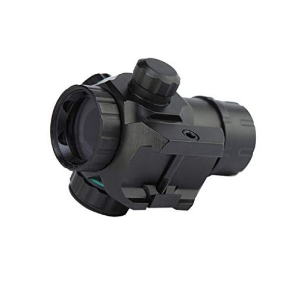 DJym Rifle Scope 4 DJym 1X22 Red Dot Sight, HD22D Common Sight 22mm Waterproof Vibration Antifogging