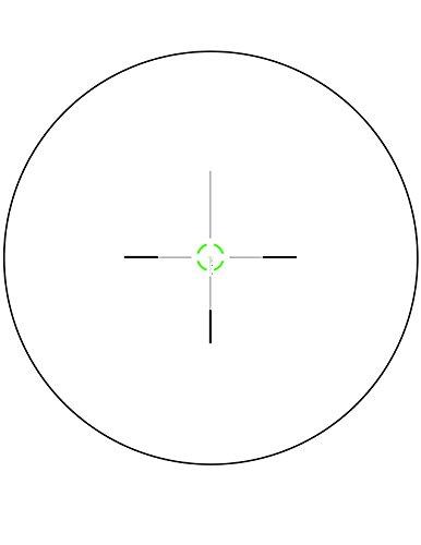 Trijicon Rifle Scope 5 Trijicon VCOG 1-6x24 Rifle Scope with Green Segmented Circle/Crosshair .223/55gr & Thumb Screw Mount