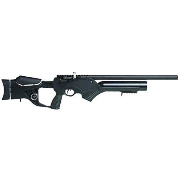 Wearable4U Air Rifle 3 Hatsan Barrage Semi Auto PCP Air Rifle with Included Wearable4U 100x Paper Targets and Lead Pellets Bundle