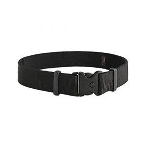 Uncle Mike's Tactical Belt 1 Uncle Mike's Kodra Nylon Web Deluxe Duty Belt (Large, Black)
