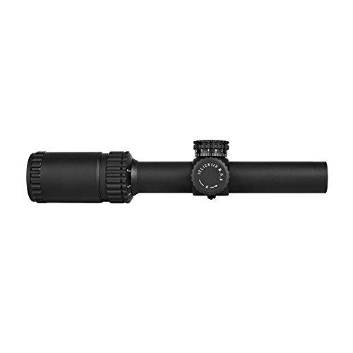 TRINITY Rifle Scope 1 Trinity Force Legacy 1-6x24 Scope, Black, P4 Sniper Reticle, SD3S1624B