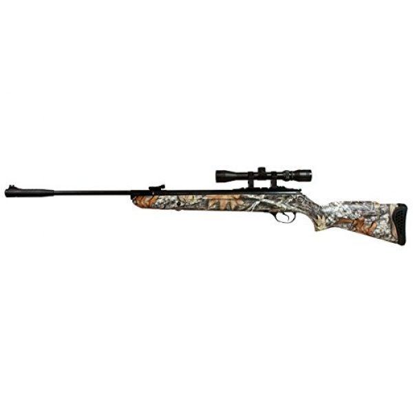 Wearable4U Air Rifle 7 Hatsan Mod 125 Spring Camo Combo Air Rifle with Wearable4U Paper Targets and Lead Pellets Bundle