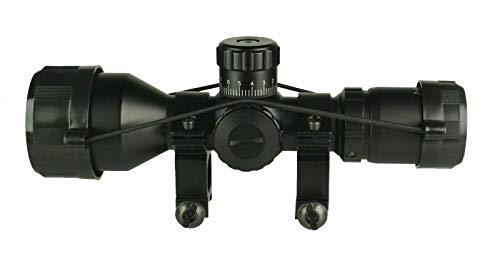 DB TAC INC Rifle Scope 2 DB TAC INC Compact 3-9x42 Red and Green Color Illuminated Scope Come with Rings