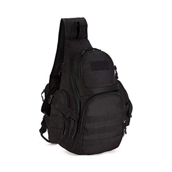 Huntvp Tactical Backpack 1 Huntvp Tactical Sling Backpack Military Daypack Molle Chest Shoulder Bag