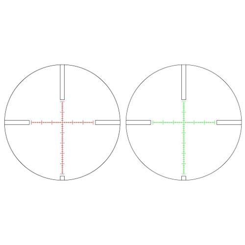 Red & Green Illuminated Second Focal Plane (SFP) Riflescope