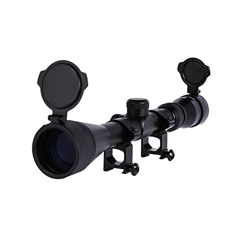 Letra Rifle Scope 1 LETRA Rifle Scope 3-9x40 Duplex Crosshair R4 Reticle with 20mm Free Mounts