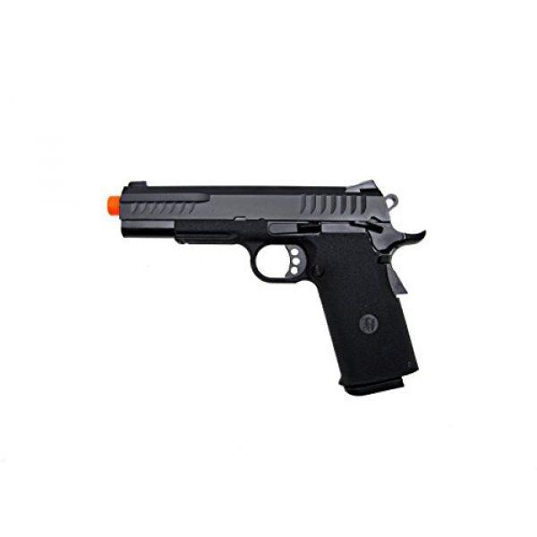 KJW Airsoft Pistol 1 KJW model-618 kp08 gas/co2 blowback full metal/black(Airsoft Gun)
