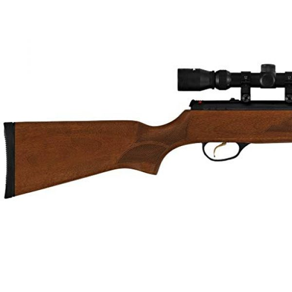 Wearable4U Air Rifle 4 Hatsan Mod 95 Vortex Combo QuietEnergy QE Air Rifle, Walnut with Included Wearable4U 100x Paper Targets and Lead Pellets Bundle