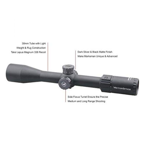 Vector Optics Rifle Scope 3 Vector Optics Marksman 4-16x44mm, 1/10 MIL, 30mm Tube, First Focal Plane (FFP) Hunting Riflescope