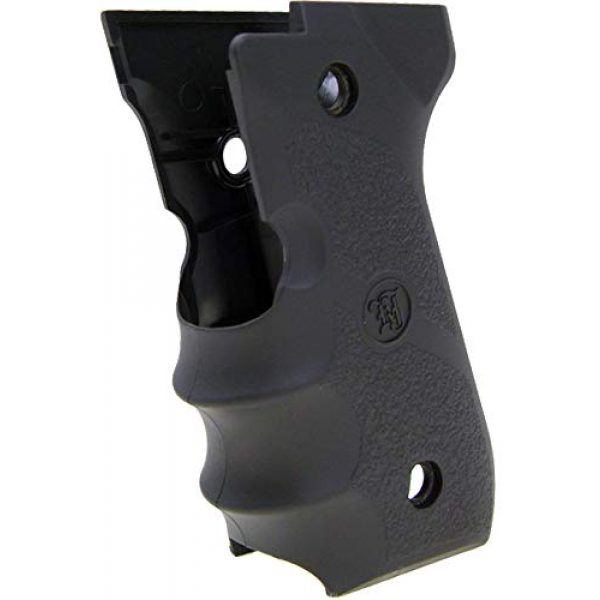 KJW Airsoft Pistol 3 KJW Tactical M9 45 Grips Gas Blowback Airsoft Pistol M9a1 Compatible WE/HFC M9 Series Airsoft Pistol Grip Ergonomic Comfort Tactical Pistol Grip Airsoft Accessory Starter Pack