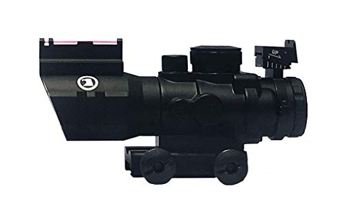Osprey Global Rifle Scope 2 Osprey Global 4x32MD Standard Mil-Dot Scope, 4X 32mm, Matte Black