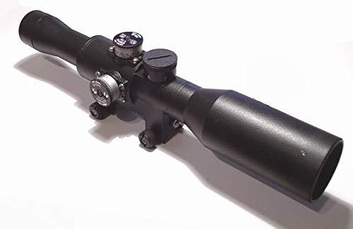 Kalinka Optics Rifle Scope 1 Kalinka Optics POSP 8x42W Rifle Scope 1000 Meter Rangefinder Weaver Picatinny Version