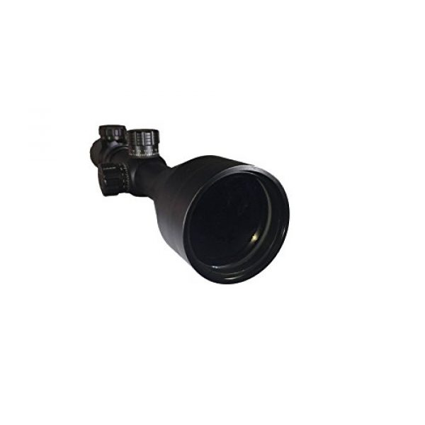 SG Sportsman's Gear Rifle Scope 3 SG Tactical 2.5-10X56E Rifle Scope with Red and Green Illuminated Crosshair and 56mm Objective Tube