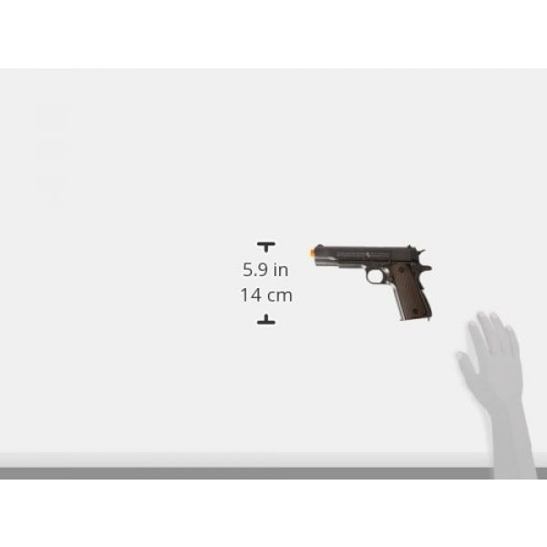 Colt Airsoft Pistol 6 Colt 100th Anniversary 1911 CO2 Full Metal Airsoft Pistol