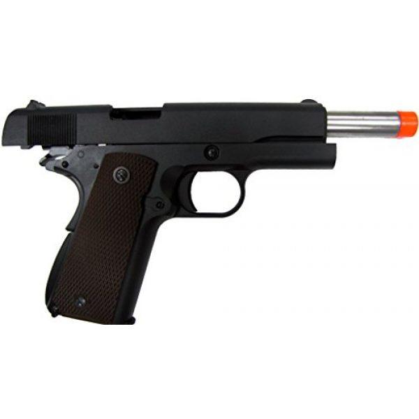 WE Airsoft Pistol 7 WE hi-capa 191 gas blowback full metal - black(Airsoft Gun)