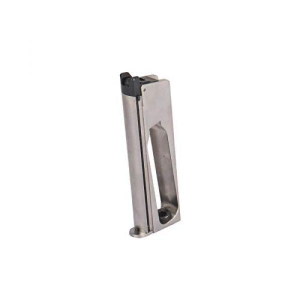 WE Airsoft Pistol 6 WE Tech M1911 Metal GBB Airsoft Pistol CO2 Version Chrome